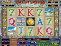 Play Free Ancient Wonders Slot -