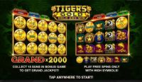 Play Free Tiger's Gold: Hold and Win Slot -