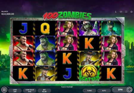 Play 100 Zombies - Free Slot Game