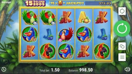 Play 15 Golden Eggs - Free Slot Game