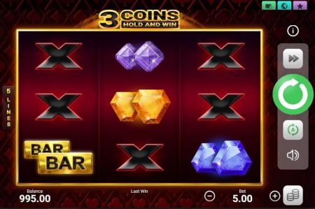 Play 3 Coins - Free Slot Game