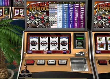 Play 4 Reels Drive - Free Slot Game