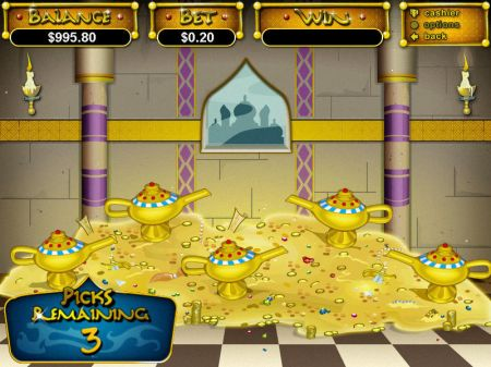Play Aladdin's Wishes - Free Slot Game