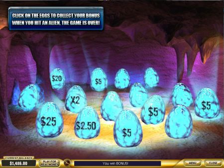 Play Alien Hunter - Free Slot Game