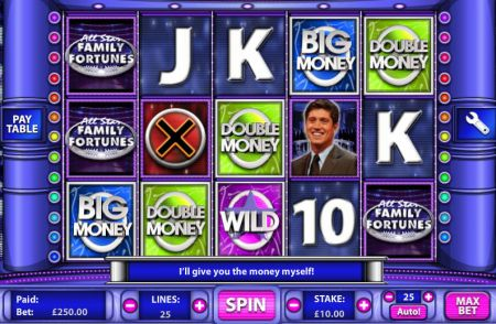 Play All Star Family Fortunes - Free Slot Game