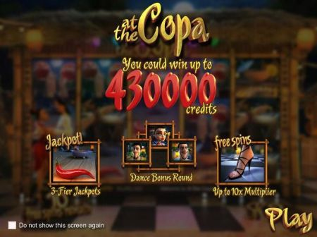 Play At the Copa - Free Slot Game