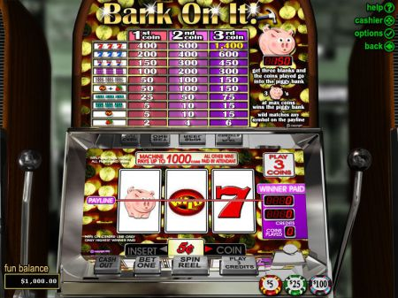 Play Bank on It - Free Slot Game