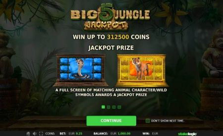 Play Big 5 Jungle Jackpot - Free Slot Game