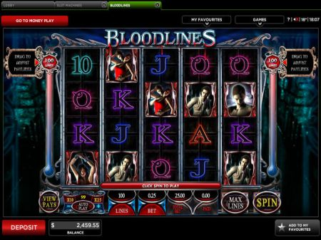 Play Bloodlines - Free Slot Game