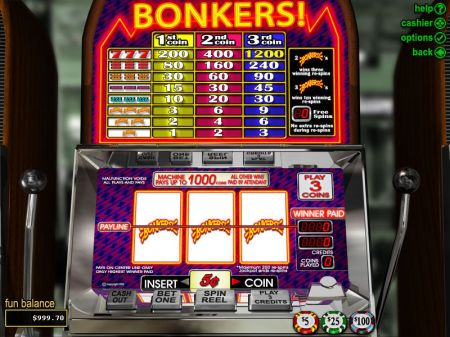 Play Bonkers - Free Slot Game