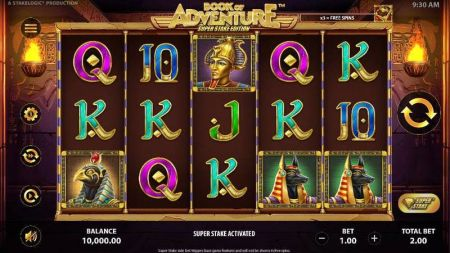 Play Book of Adventure: Super Stake Edition - Free Slot Game