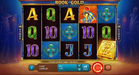 Play Book of Gold: Symbol Choice - Free Slot Game