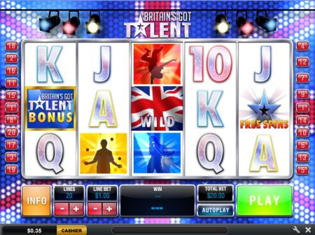 Play Britain's Got Talent - Free Slot Game