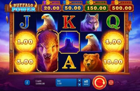 Play Buffalo Power: Hold and Win - Free Slot Game