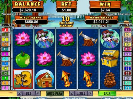 Play Builder Beaver - Free Slot Game