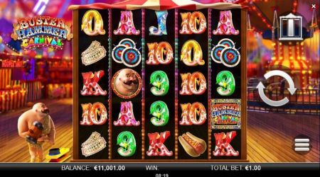 Play Buster Hammer Carnival - Free Slot Game