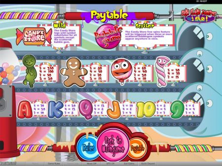 Play Candy Store - Free Slot Game
