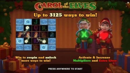 Play Carol of the Elves - Free Slot Game