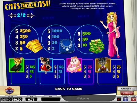 Play Cats & Cash - Free Slot Game