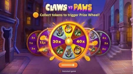 Play Claws vs Paws - Free Slot Game