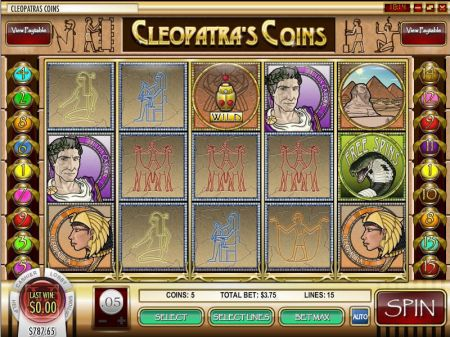 Play Cleopatra's Coin - Free Slot Game