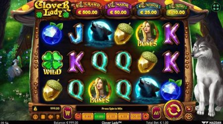 Play Clover Lady - Free Slot Game