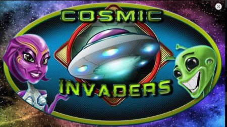 Play Cosmic Invaders - Free Slot Game