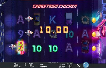 Play Crosstown Chicken - Free Slot Game