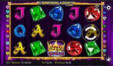 Play Crowning Glory - Free Slot Game