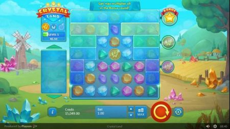 Play Crystal Land - Free Slot Game