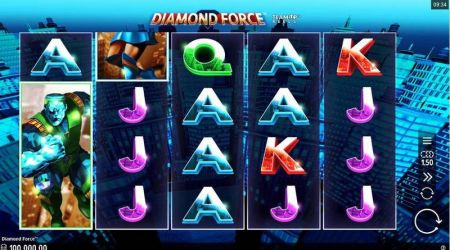 Play Diamond Force - Free Slot Game