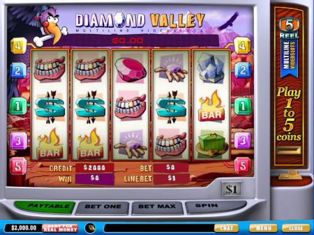 Play Diamond Valley - Free Slot Game