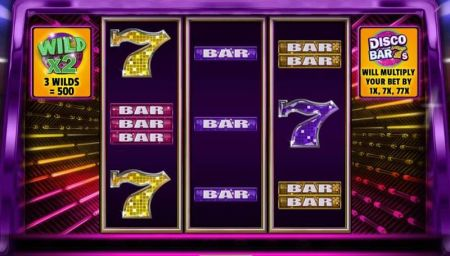 Play Disco Bar 7s - Free Slot Game