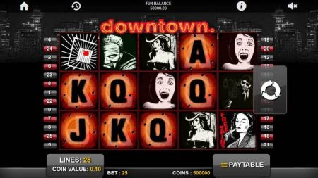 Play Downtown - Free Slot Game
