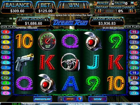 Play Dream Run - Free Slot Game