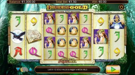 Play Druidess Gold - Free Slot Game