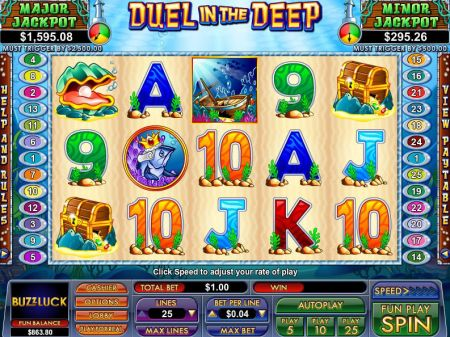 Play Duel In The Deep - Free Slot Game