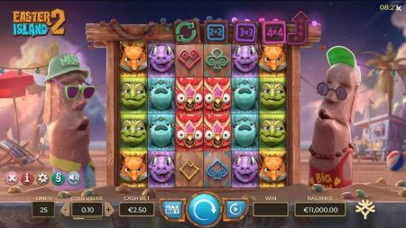 Play Easter Island 2 - Free Slot Game