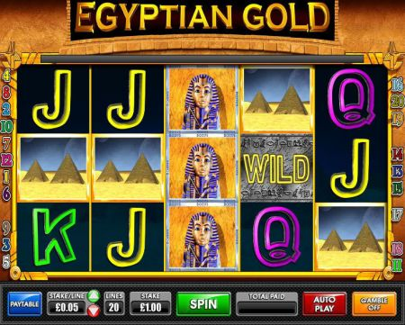 Play Egyptian Gold - Free Slot Game