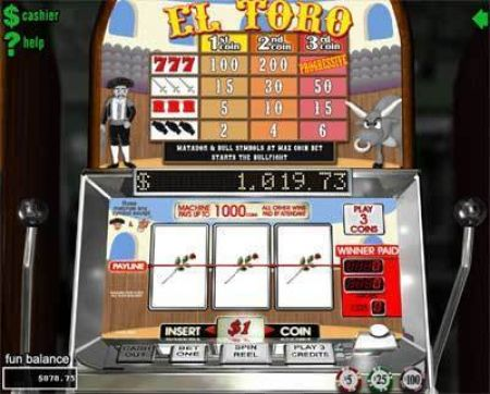 Play El Toro - Free Slot Game