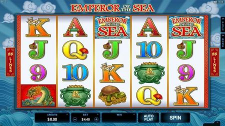 Play Emperor of the Sea - Free Slot Game