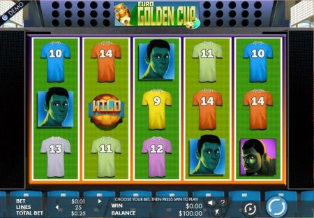 Play Euro Golden Cup - Free Slot Game