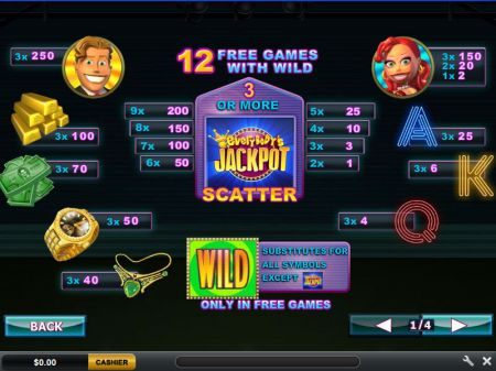 Play Everybody's Jackpot - Free Slot Game
