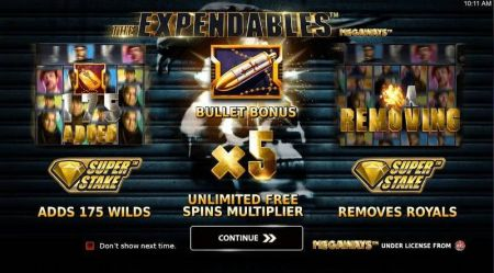 Play Expendables Megaways - Free Slot Game