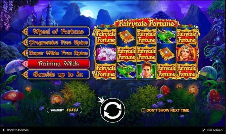 Play Fairytale Fortune - Free Slot Game