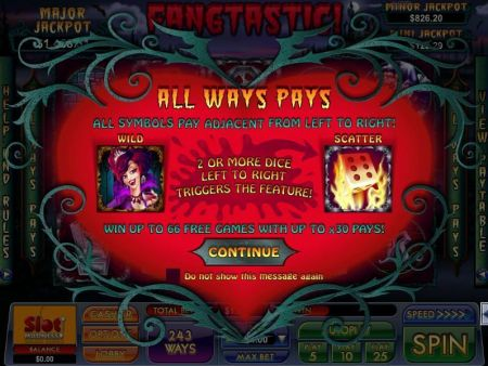 Play Fangtastic - Free Slot Game