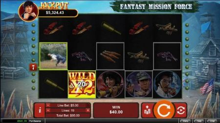 Play Fantasy Mission Force - Free Slot Game