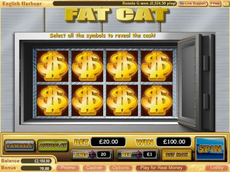 Play Fat Cat - Free Slot Game