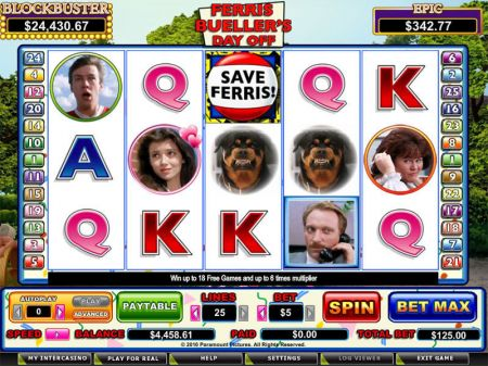 Play Ferris Bueller - Free Slot Game