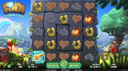 Play Finn and the Swirly Spin - Free Slot Game